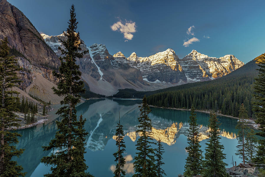 Majestic Moraine Lake Photograph By Pierre Leclerc Photography