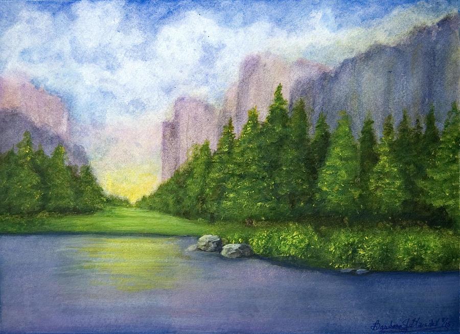 Majestic Mountains by Barbara J Blaisdell