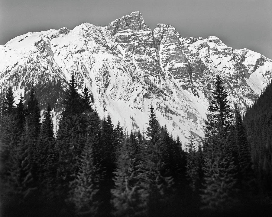 Horizontal Photograph - Majestic Mountains, British Columbia, Canada by Brian Caissie