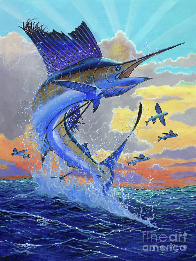 Majestic Sail Painting By Carey Chen