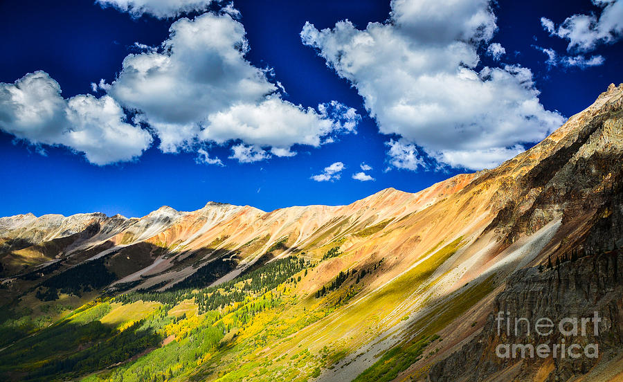Ouray Photograph - Majestic San Juan Mountains  by Scott and Amanda Anderson