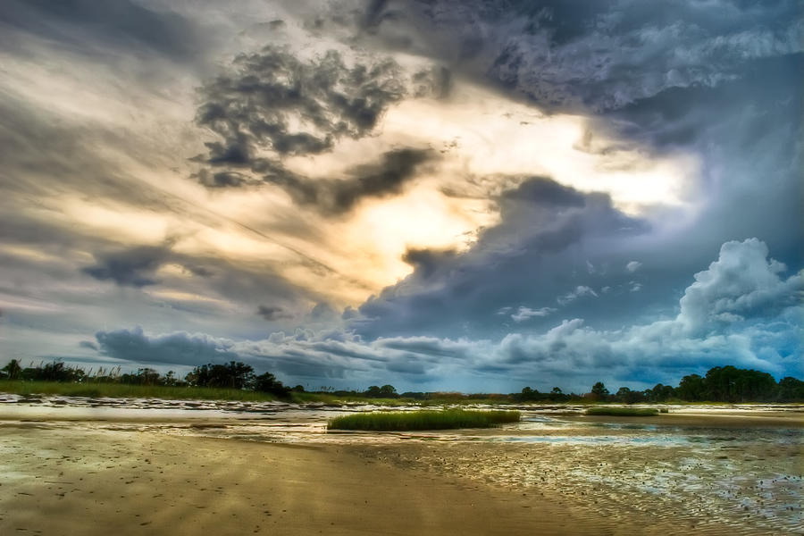 Beach Photograph - Majestic Sky by Rich Leighton