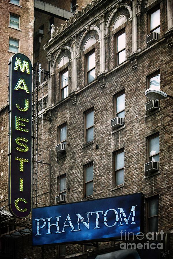 Majestic Theatre New York City Photograph By Nishanth