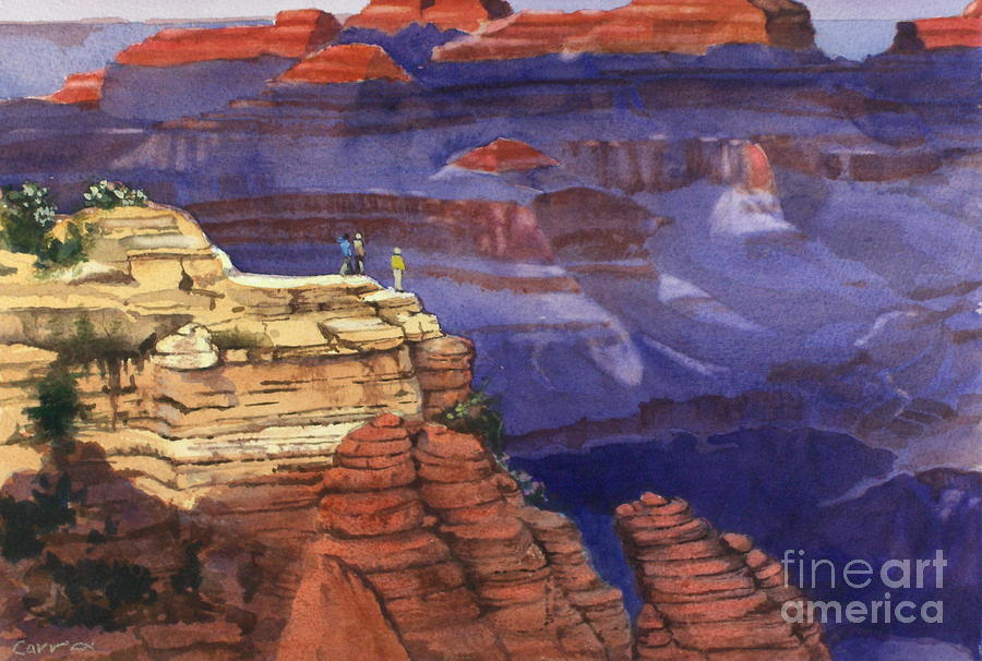Grand Canyon Painting - Majesty by Elizabeth Carr