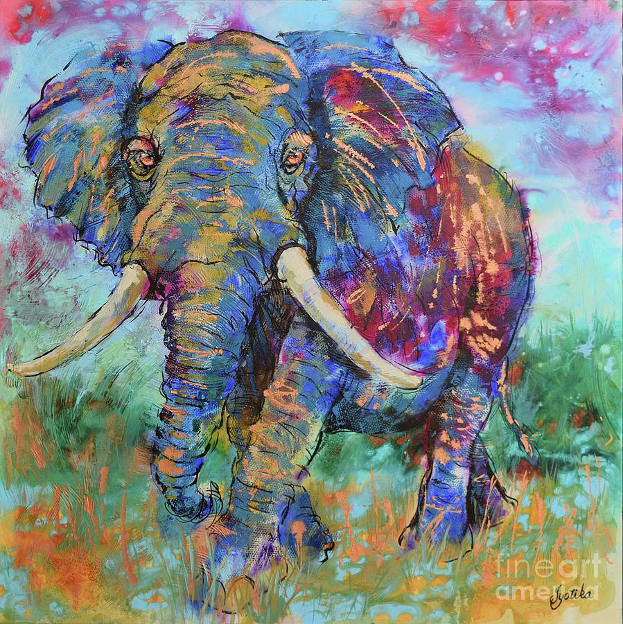 Majestic Elephant by Jyotika Shroff