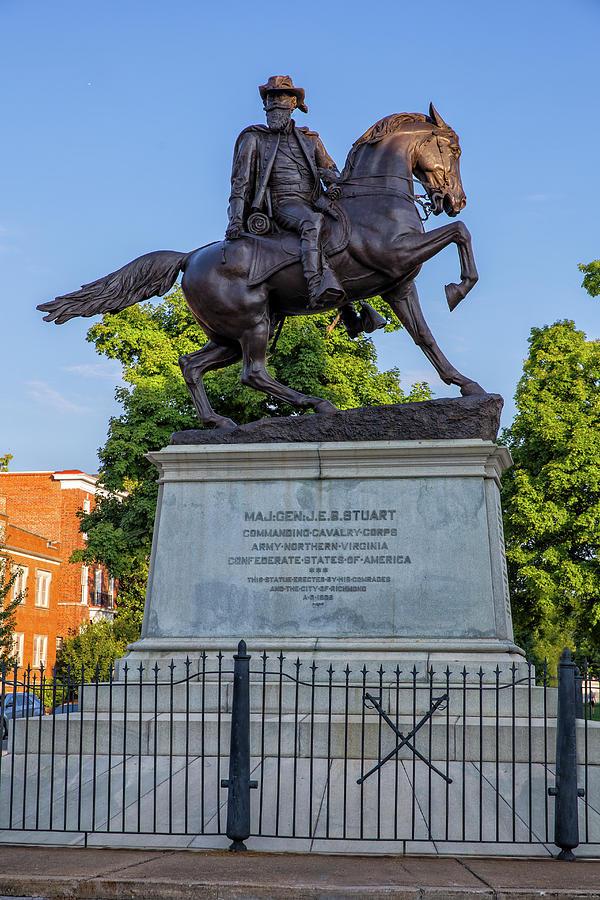 Jeb Stuart Photograph - Major General J.E.B. Stuart by Cliff Middlebrook