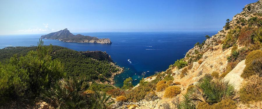 Majorca Photograph - Majorca Spain Panorama by Matthias Hauser