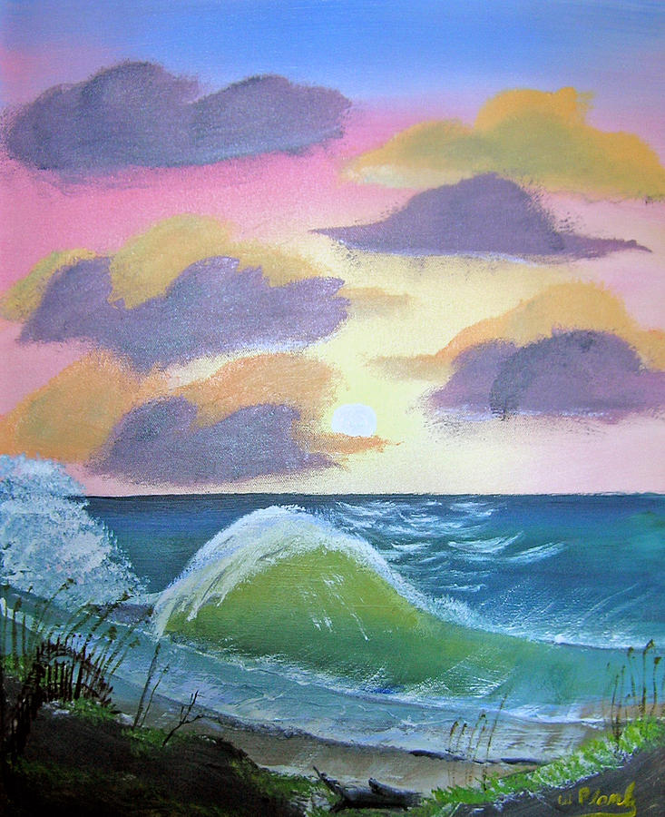Seascapes Painting - Makaha by William Plank