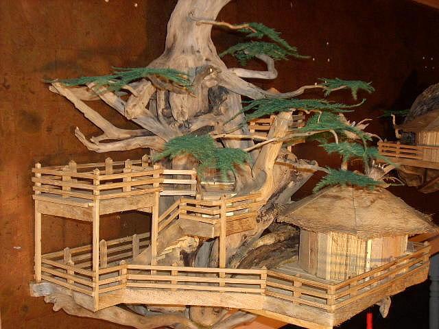 Driftwood Mixed Media - Makai Tree House by David Cole