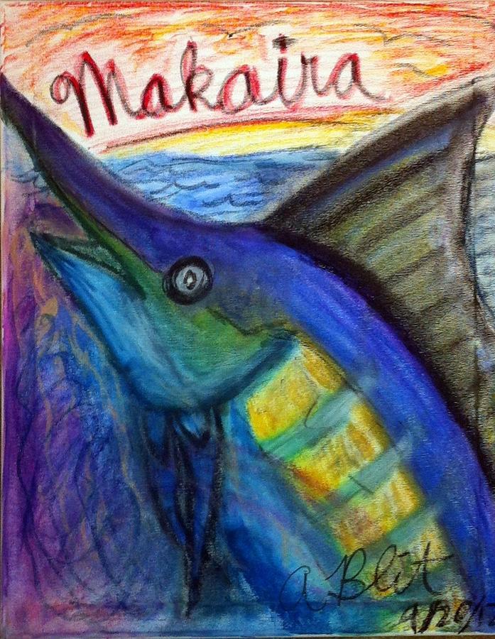Makaira Nigricans Pastel - Makaira by Andrew Blitman