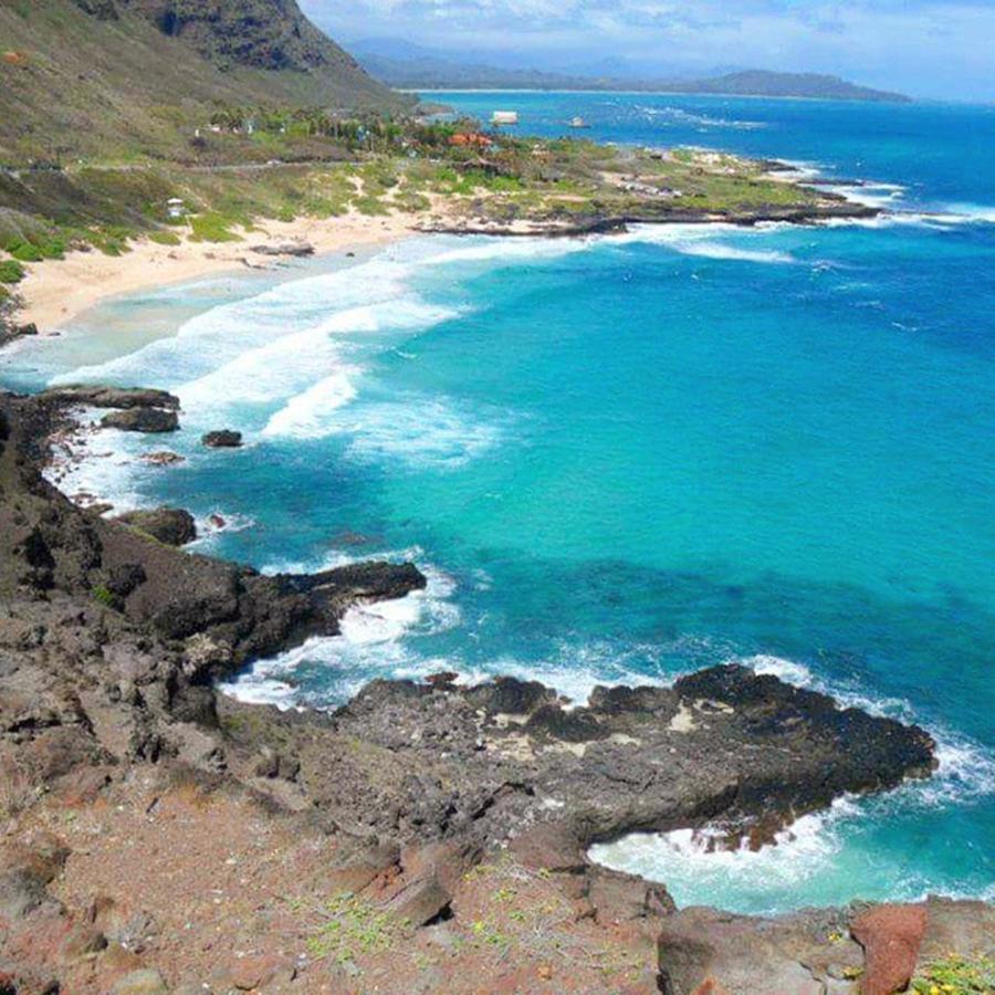 Hawaii Photograph - Makapuu Point Oahu Hawaii by Sophia Perez