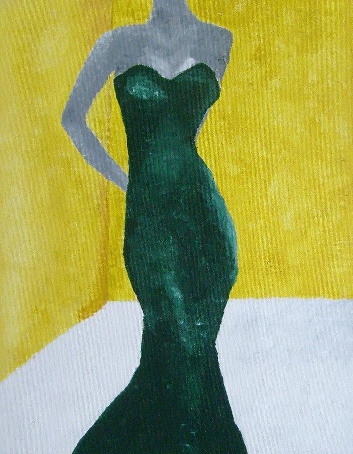 Woman Painting - Make An Impression by Margo Snyder