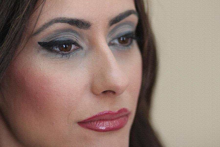 Portraits Photograph - Make Up by Milan Mirkovic