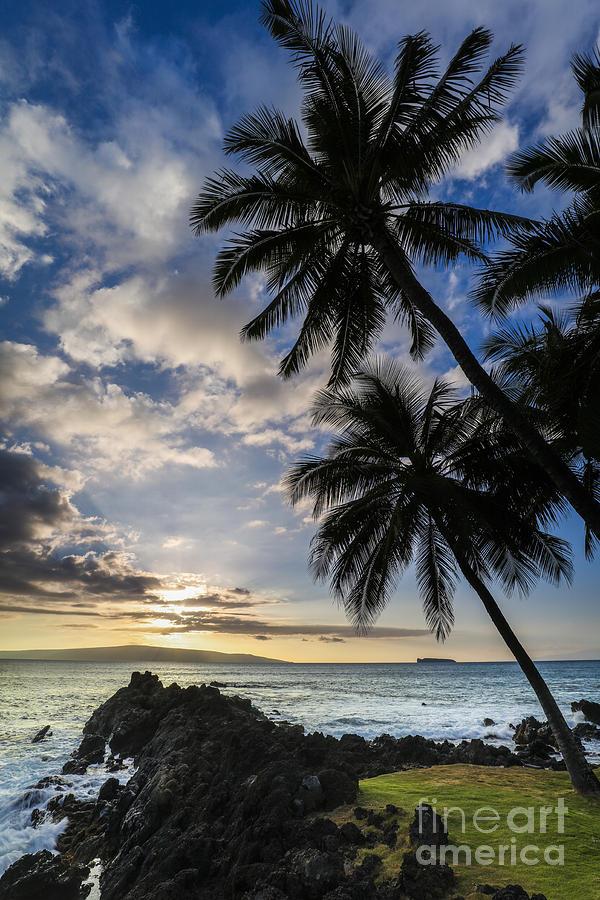 Hawaii Sunset Photograph - Makena Maui Hawaii Sunset by Dustin K Ryan