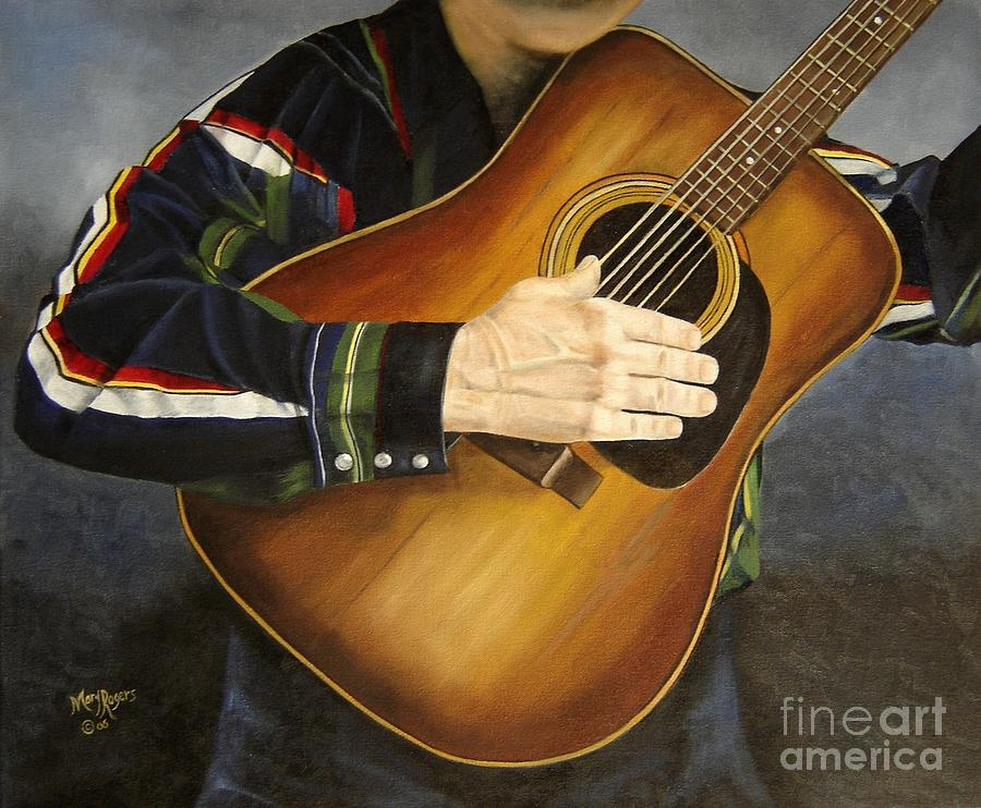 Usa Painting - Making Music by Mary Rogers