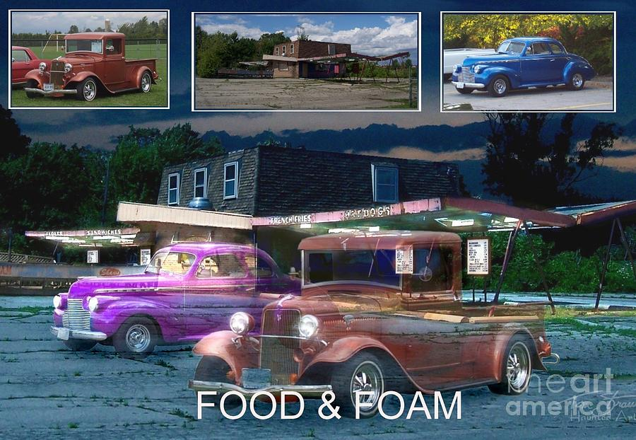 Paranormal  Photograph - Making Of Food And Foam by Tom Straub