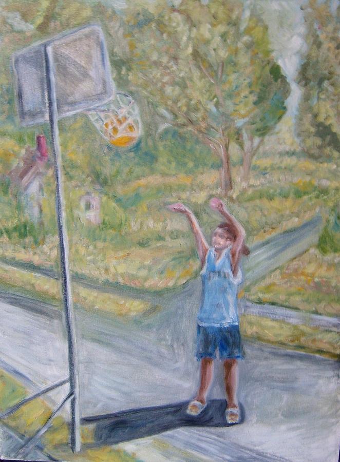 Making The Point Painting by Joseph Sandora Jr