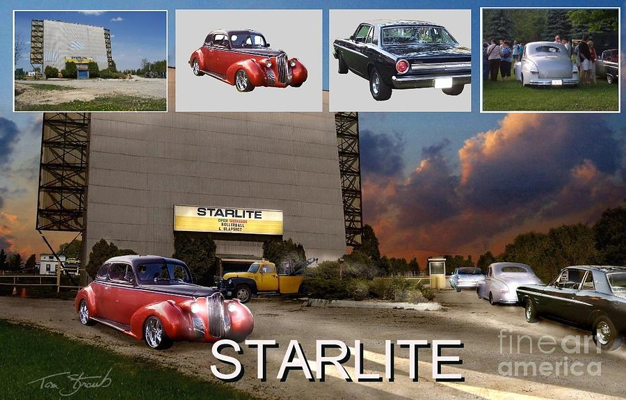 Long Gone Photograph - Making The Starlite by Tom Straub