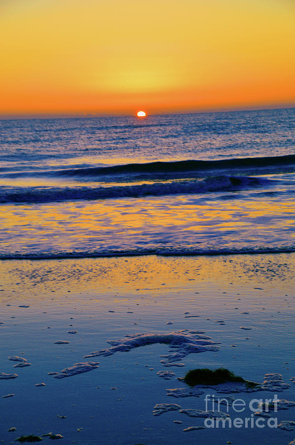 Sunrise Photograph - Making Waves by Robyn King