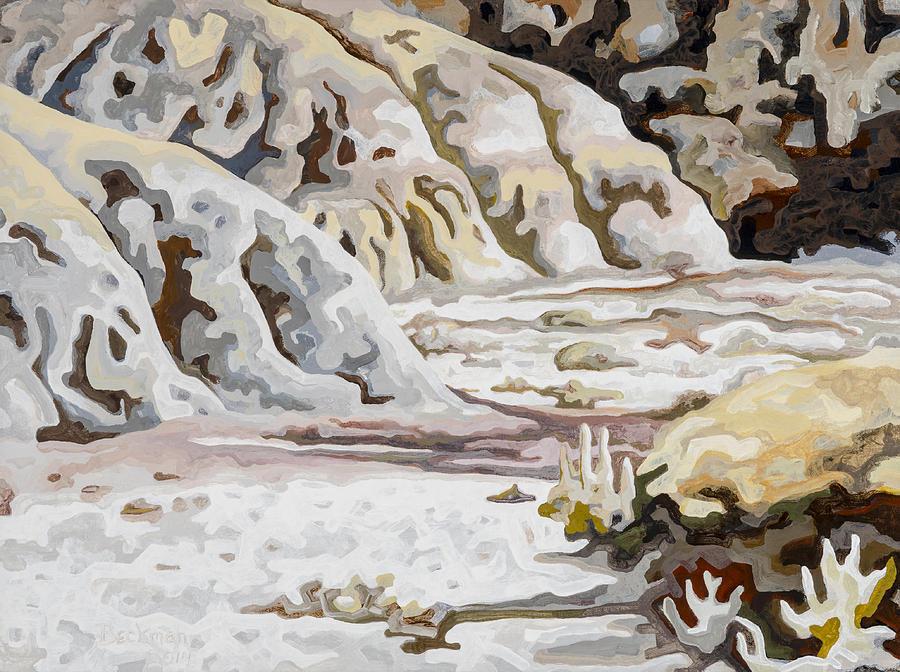 Makoshika State Park #3 Painting