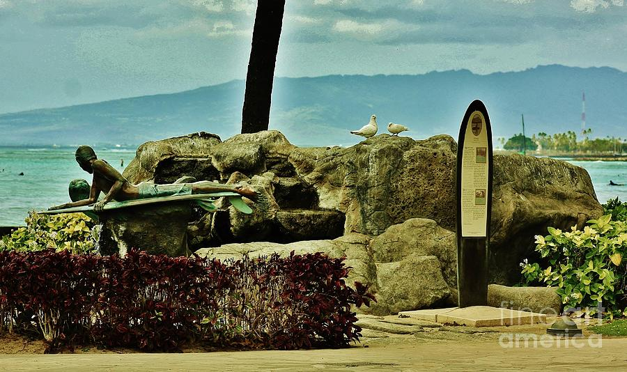 Surfer Photograph - Makua And Kila by Craig Wood