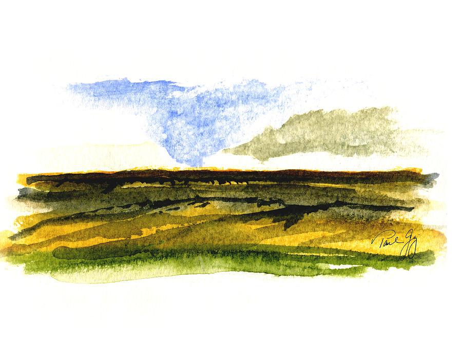 Malaga Painting - Malaga Washington Ridge by Paul Gaj