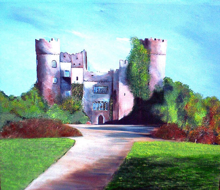 Landscape Painting - Malahide Castle by Julie Lamons