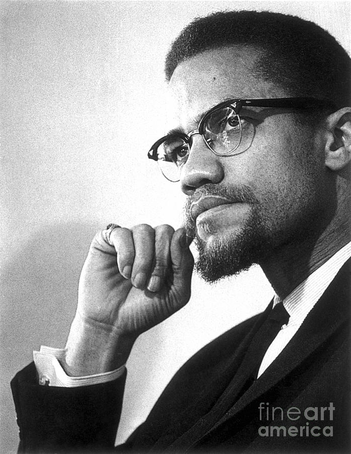 20th Century Photograph - Malcolm X (1925-1965) by Granger