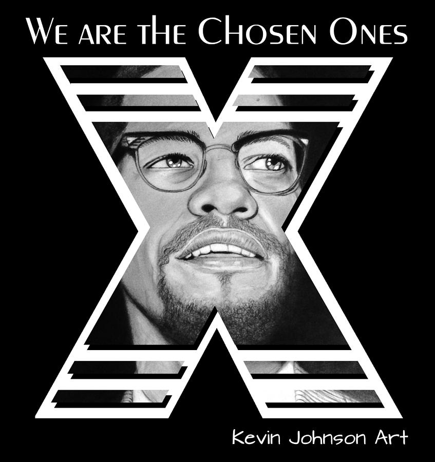 Malcolm X - The Chosen Ones Collection by Kevin Johnson Art