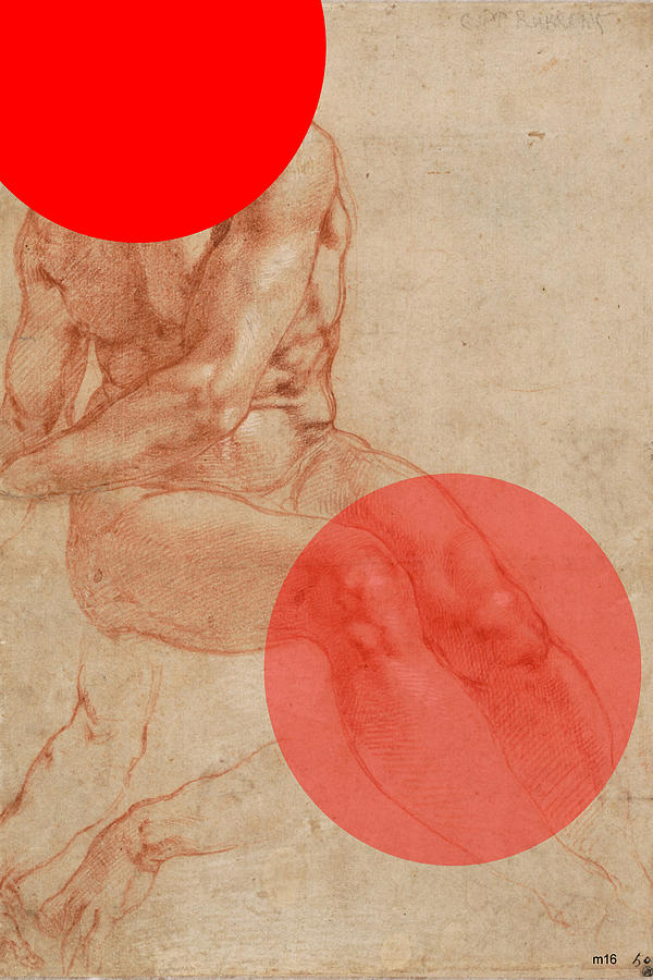 Male Nude 4 Revisited by D A Metrov