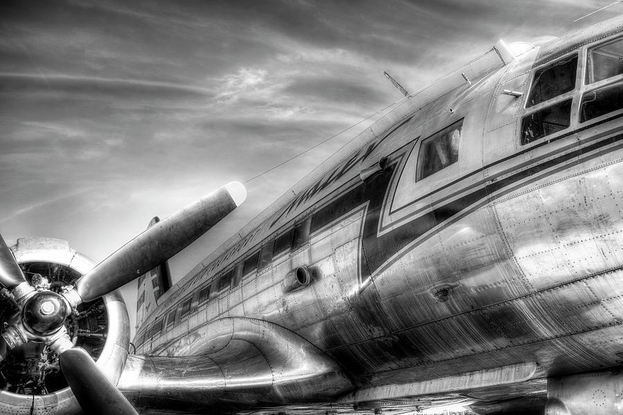 Russia Photograph - Malev Airlines Ilyushin Il-14 by David Pyatt