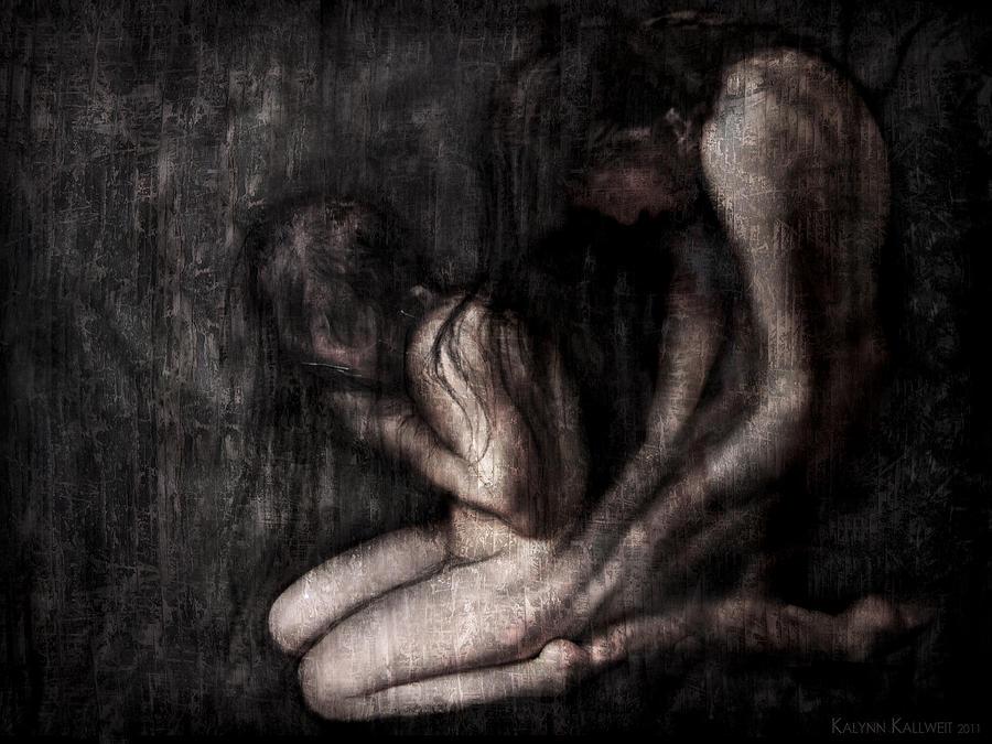 Spirits Digital Art - Malevolent Possession by Kalynn Kallweit