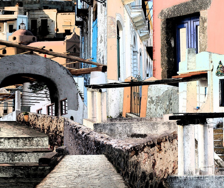 Italy Photograph - Malfa Elevations by Ayesha DeLorenzo