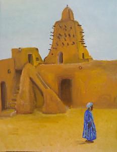 Mali Painting by Ahmed Ait Addi