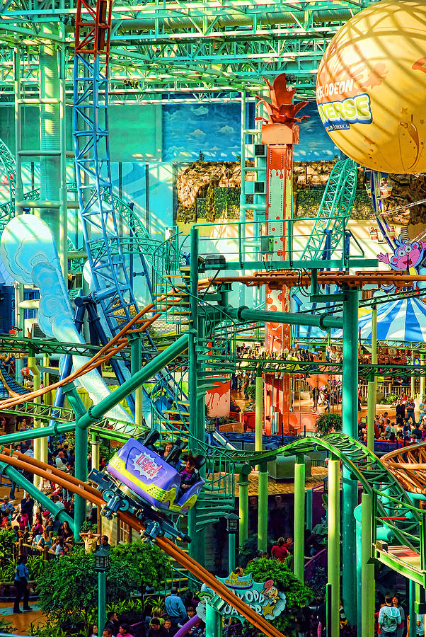Indoor Photograph - Mall Of America by Rich Beer