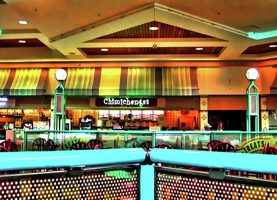 Mall Photograph - Mall Scape by Francesco Roncone