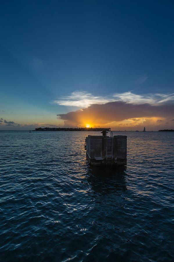 Key West Photograph - Mallory Square Sundown by Dan Vidal