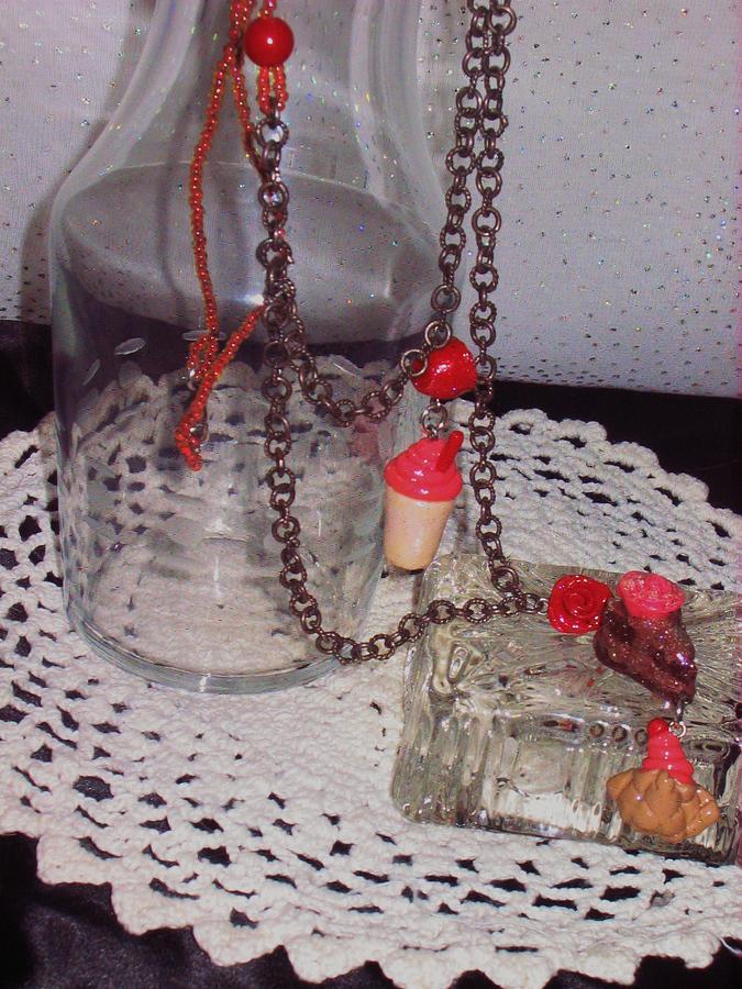 Food Jewelry - Malt Shop Yummies Necklace by Jamie Pool
