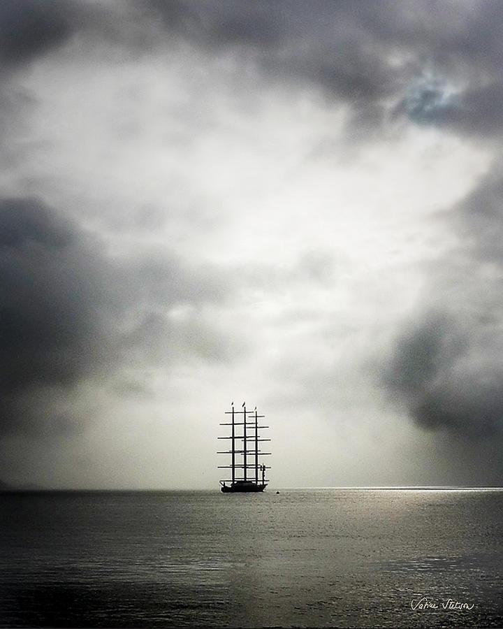 Yacht Photograph - Maltese Falcon by Sabine Stetson