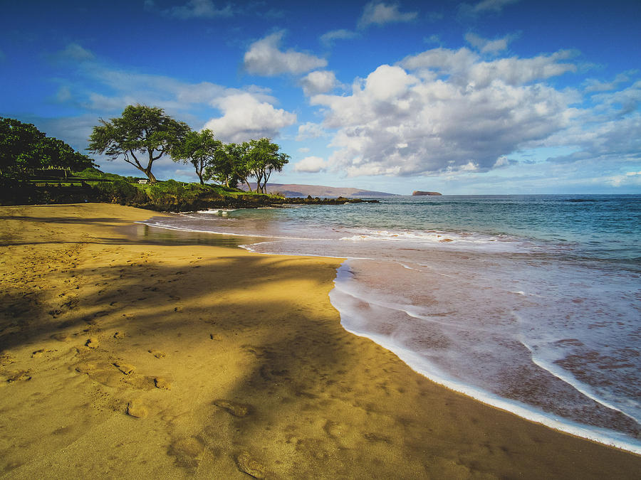 Aloha Photograph - Maluaka Beach by Andy Konieczny