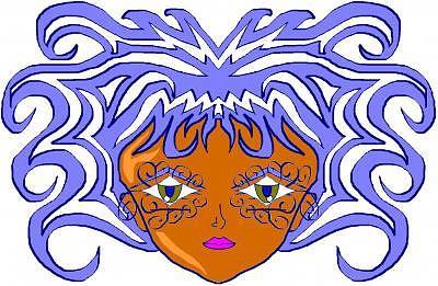 Faces Digital Art - Mam by James Patterson