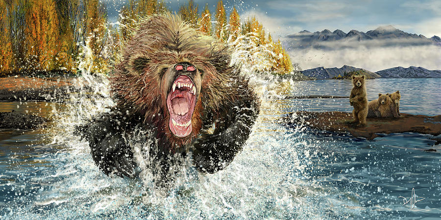 Mama Grizzly by Don Olea