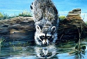 Animal Painting - Mama Taught Me Good by Naomi Dixon