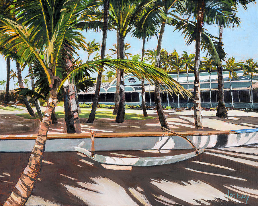 Mama 39 s fish house painting by stacy vosberg for Mama s fish house maui