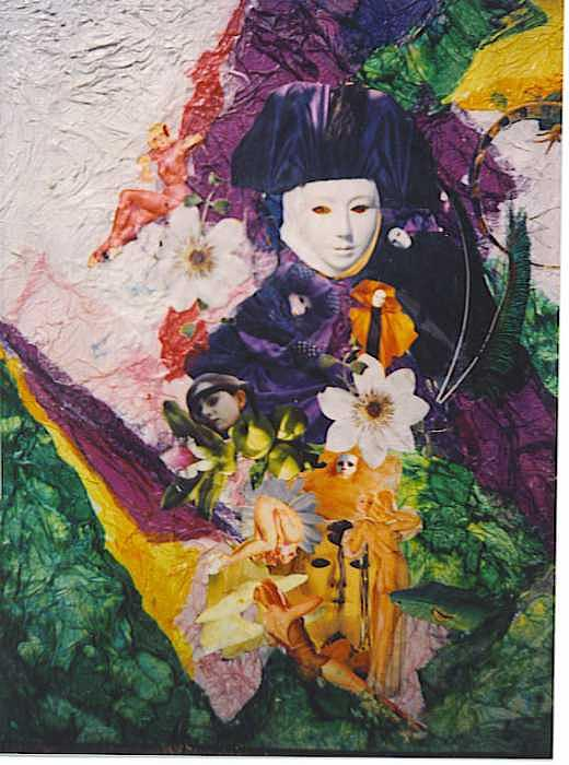 Mame Butterfly Mixed Media by Rani Scott