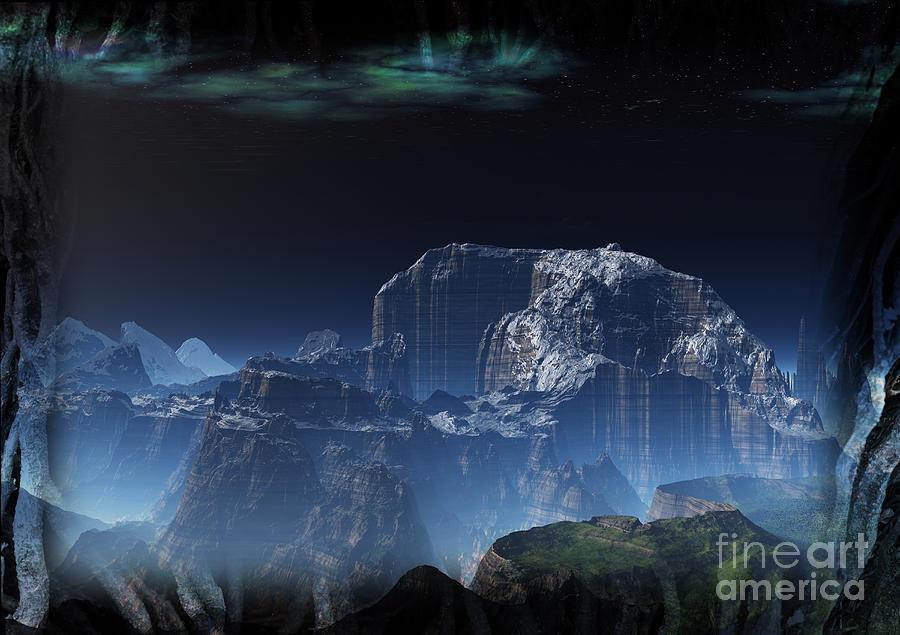 Mammoth Mountain Digital Art - Mammoth Mountain by Heinz G Mielke