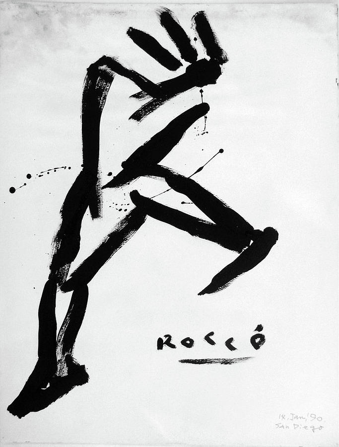 Rocco Painting - Man About Town by Rocco Satoshi