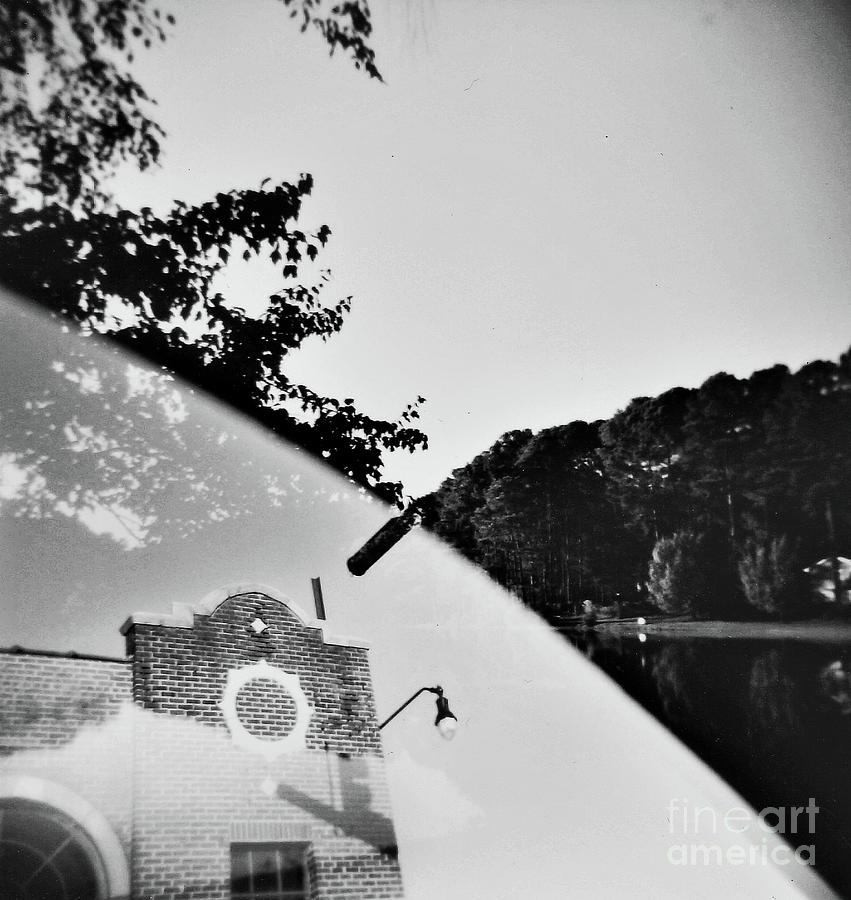 Multiple Exposure Photograph - Man And Earth 1 by Lacey Renae