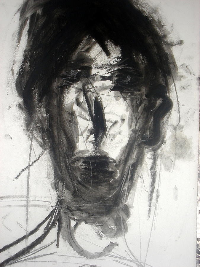 Portrait Painting - Man I by Harout Jorekjian
