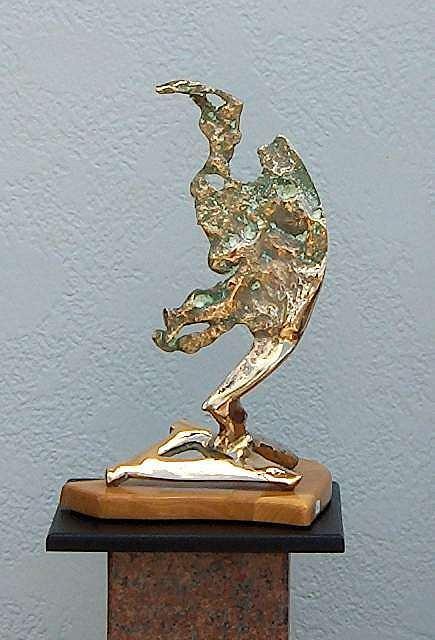 Sculpture Sculpture - Man In The Moon by Richard Beau Lieu